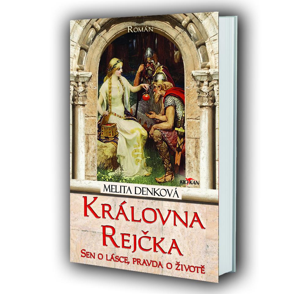 Kniha Královna Rejčka v našem nakladatelství Alpress