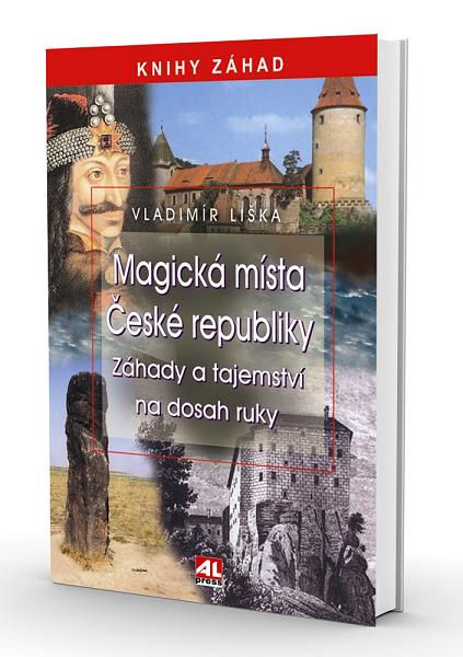 Kniha Magická místa České republiky v našem nakladatelství Alpress