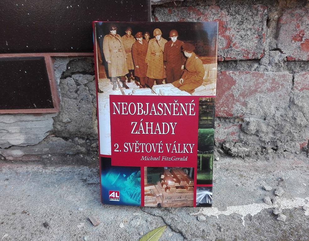 Kniha Neobjasněné záhady 2. světové války v našem nakladatelství Alpress