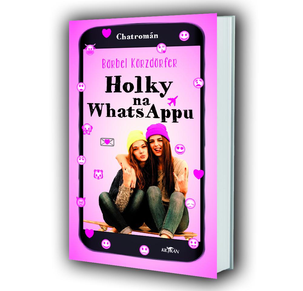 Kniha Holky na whattsappu v našem nakladatelství Alpress