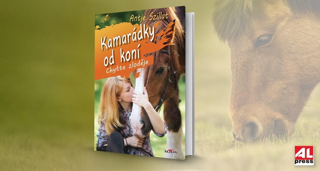 Kniha Kamarádky od koní - Chyťte zloděje v našem nakladatelství Alpress