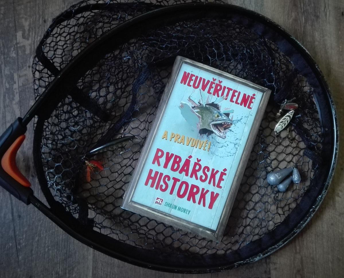 kniha Neuvěřitelné a pravdivé rybářské historky v našem nakladatelství Alpress