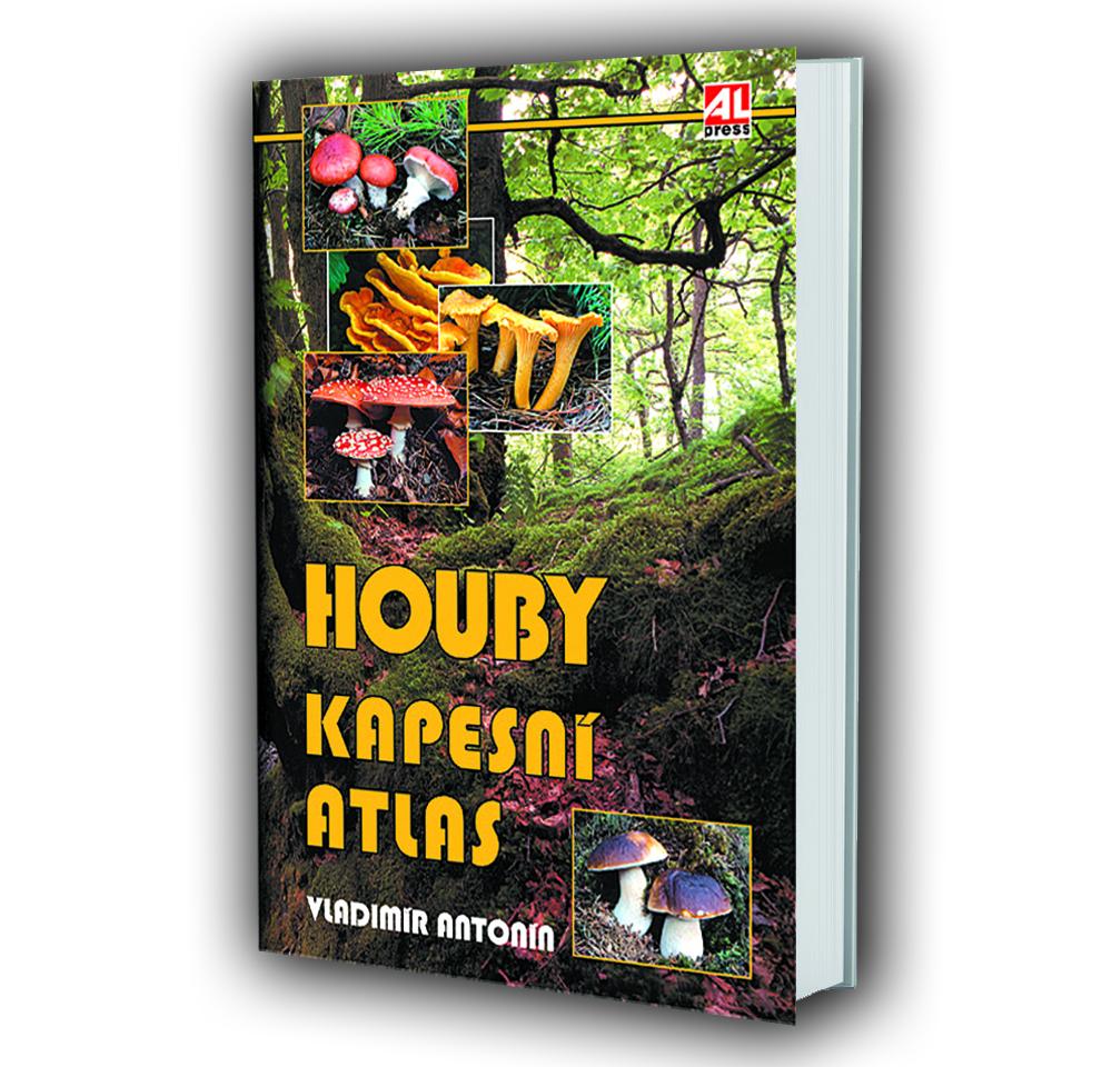 Kniha Houby - kapesní atlas v našem nakladatelství Alpress