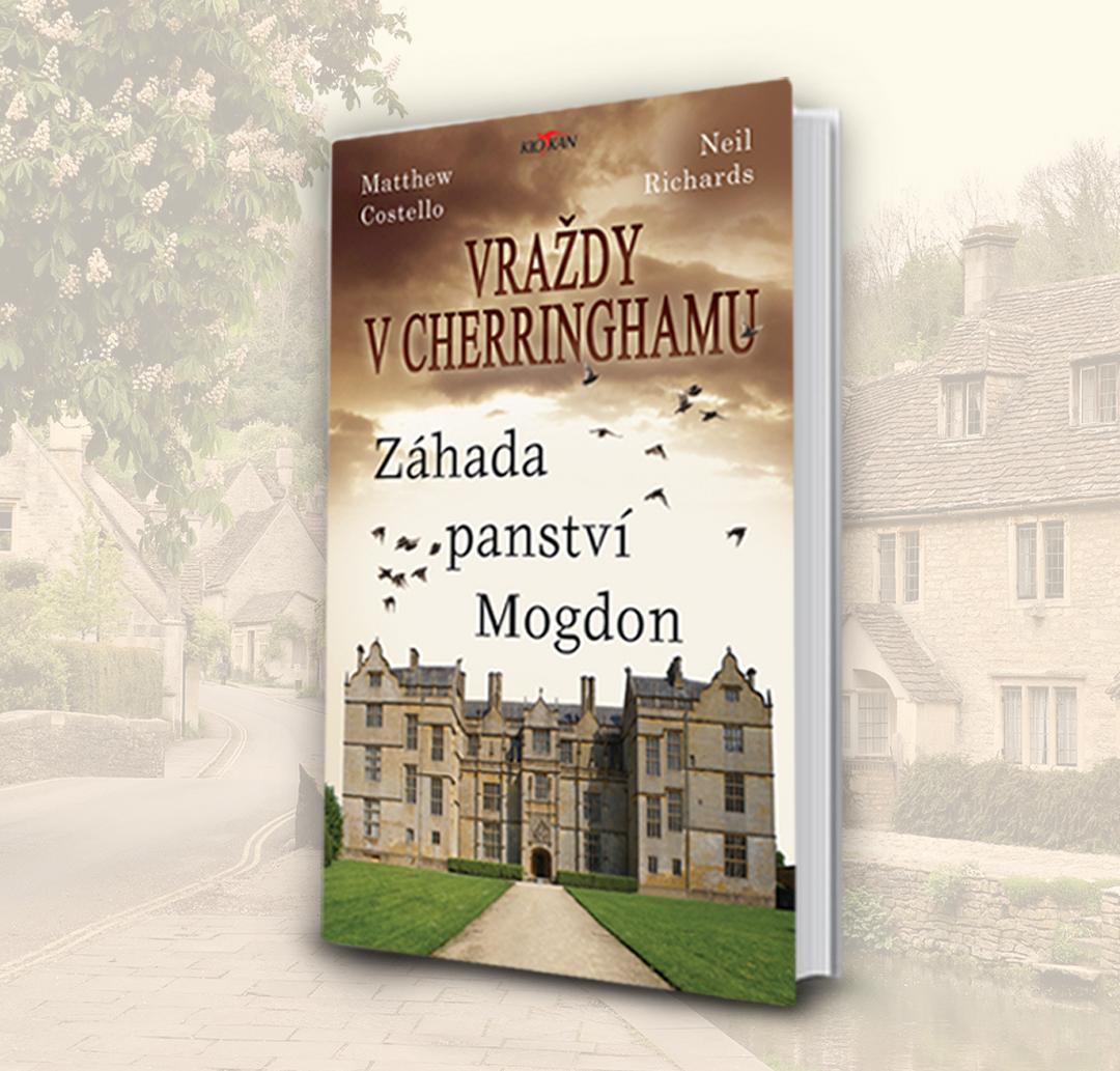 Kniha Vraždy v Cherringhamu - Záhada panství Mogdon v našem nakladatelství Alpress