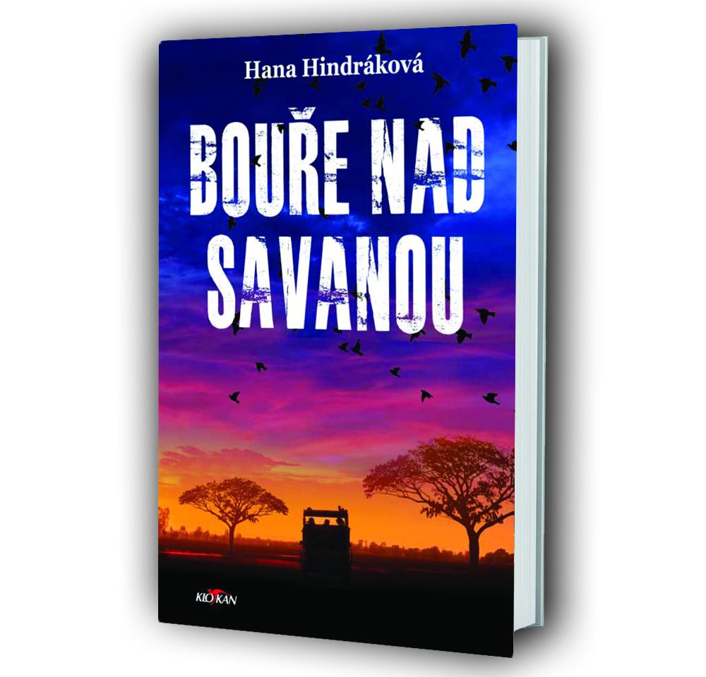 Kniha Bouře nad savanou v našem nakladatelství Alpress