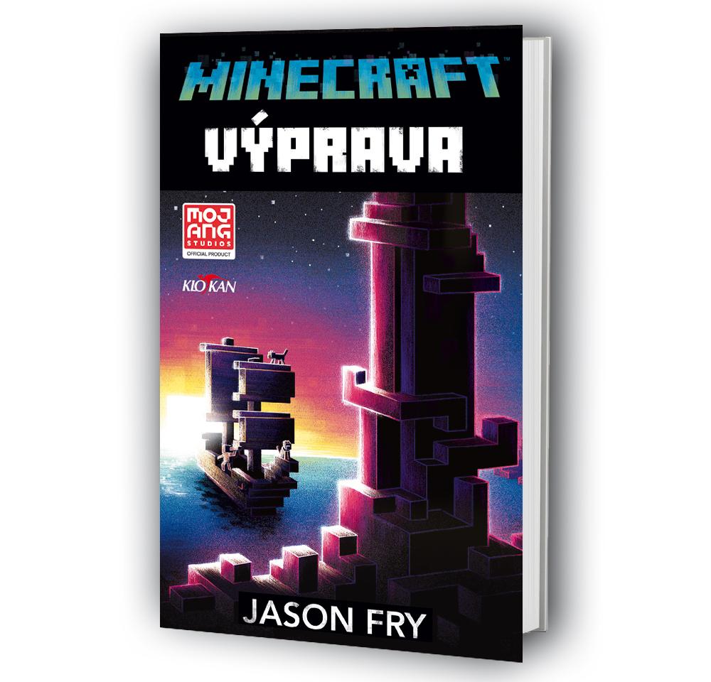 Kniha Minecraft - Výprava v našem nakladatelství Alpress