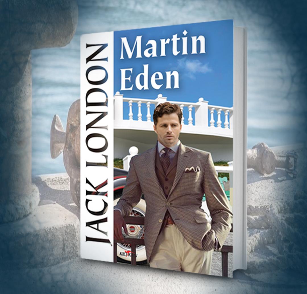Kniha Martin Eden v našem nakladatelství Alpress