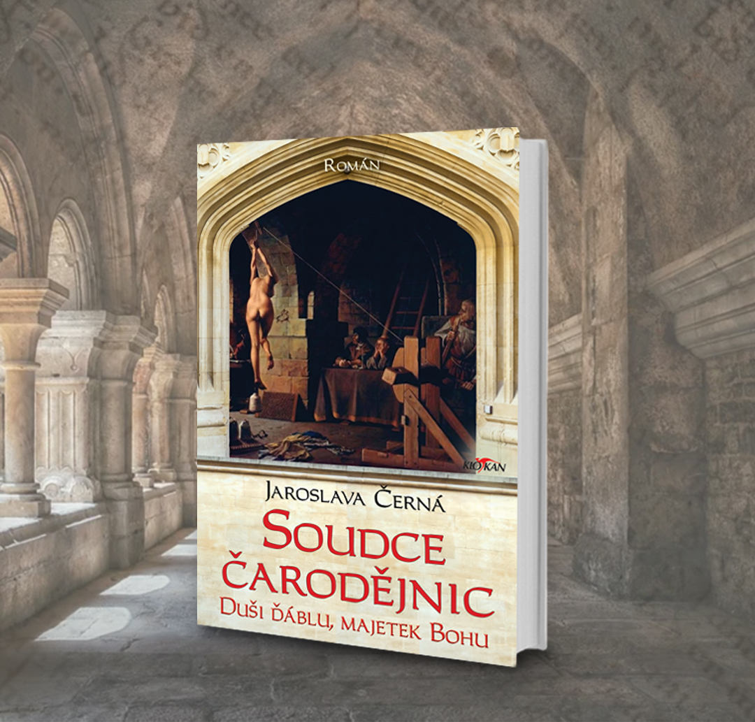 Kniha Soudce čarodějnic v našem nakladatelství Alpress